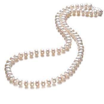 漂亮百合 淡水珍珠项链8-9mm佳人