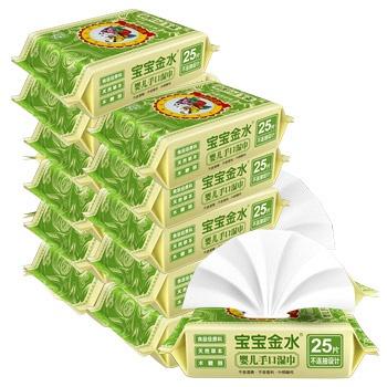 中国•宝宝金水草本手口湿巾25抽*12