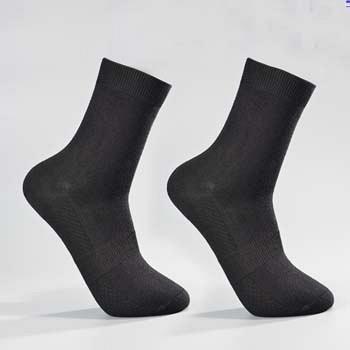 中国•2双装竹纤维健康商务男袜 黑色