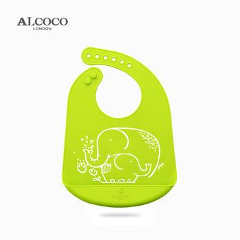 ALCOCO米可硅胶围兜围嘴防水