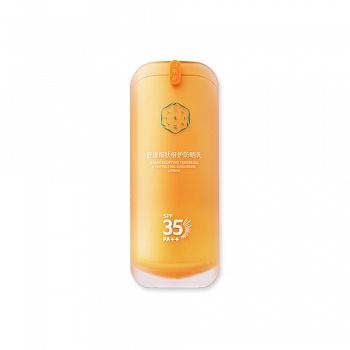 中国•百雀羚三生花舒缓细肤倍护防晒乳SPF25 PA++50g