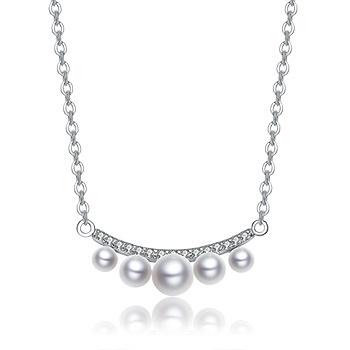 S925银贝珠套链