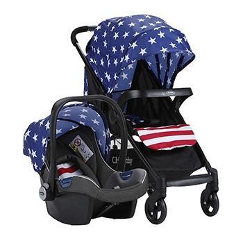 CHBABY婴儿推车配安全座椅768A