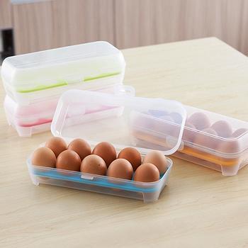 中国•考比多功能冰箱鸡蛋保鲜盒2个装