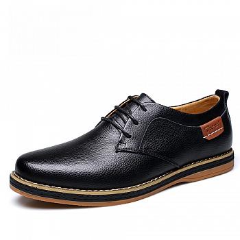 中国•承发男士系带休闲鞋 22977黑色