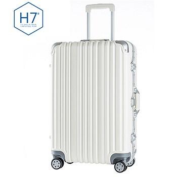 中国•H7 新款时尚铝框箱29寸 白色