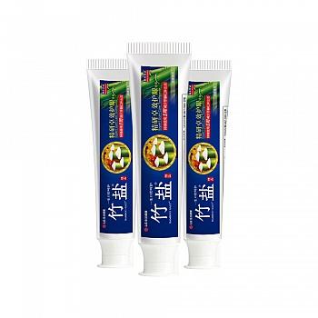 韩国•LG竹盐 精研卓效护龈牙膏145g*3