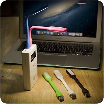 中国•2个装 便携式糖果色键盘灯阅读