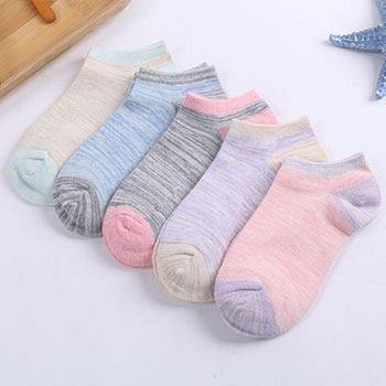 妙奈尔四季袜子女短袜棉质浅口低