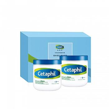 加拿大•丝塔芙 (Cetaphil)致润经典礼盒套装(致润保湿霜566g*2)