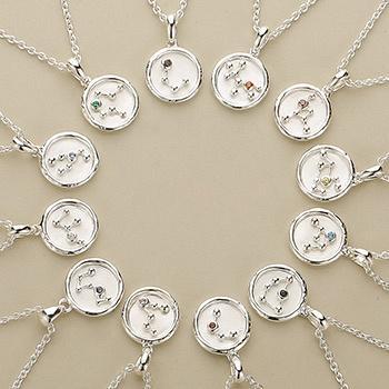 十二星座系列 s925银项链 造型时尚