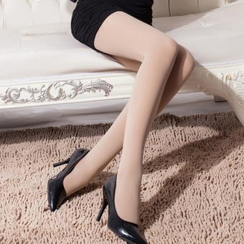 赛棉 2条装200D天鹅绒加档美腿袜