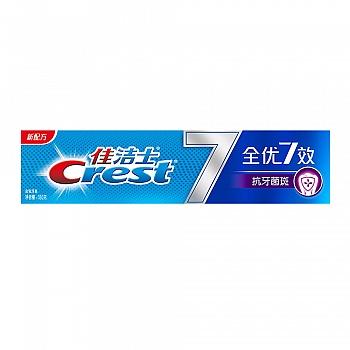 美国•佳洁士全优7效 抗牙菌斑 牙膏 180克