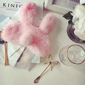 中国•沃之沃 可爱毛绒兔耳朵眼罩1个