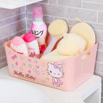 HELLO KITTY浴室大号储物篮