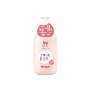 中国•红色小象全家护肤沐浴露(柔嫩亮肤)530ml