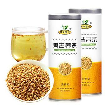 黄苦荞茶 200g×2罐