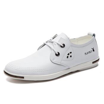 男鞋新款青少年休闲皮鞋运动