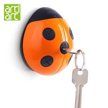 台湾Artiart瓢虫钥匙插钥匙收纳