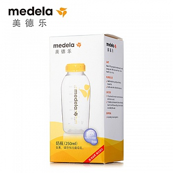 瑞士•美德乐(Medela)250ML奶瓶