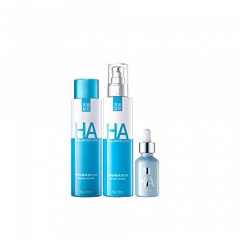 美丽加芬透明质酸保湿套装(透明质酸保湿化妆水200ml+透明质酸保湿乳液200g+透明质酸原液30ml)