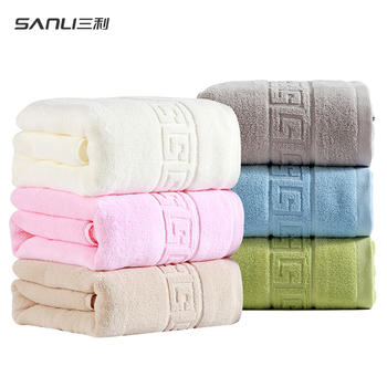 三利浴巾纯棉 加大加厚柔软吸水