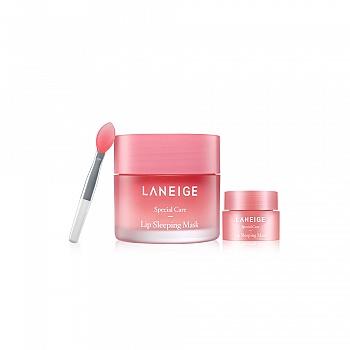 韩国•兰芝(LANEIGE)夜间保湿修护唇膜 2件套装