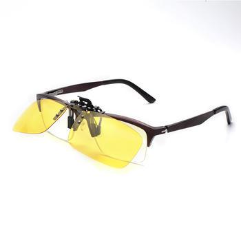 三氏偏光太阳镜个性时尚夹片近视镜夹片