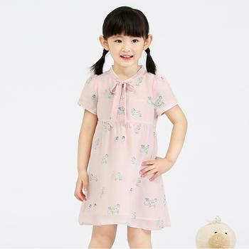 儿童真丝连衣裙夏装女童裙子原创