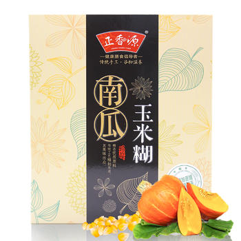 正香源 南瓜玉米糊350g/盒代餐粉