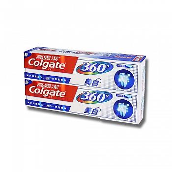 美国•高露洁(Colgate)360牙膏美白200g*2