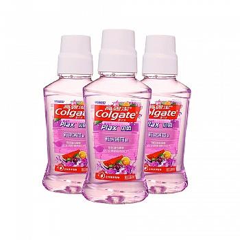 美国•高露洁(Colgate)贝齿鲜果薄荷味漱口水 250ml*3