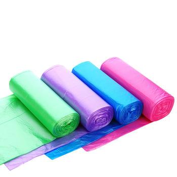 态美 加厚5卷装 点断式彩色垃圾袋