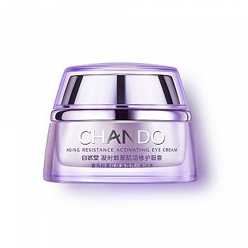中国•自然堂(CHANDO)凝时鲜颜肌活修护眼霜 15g