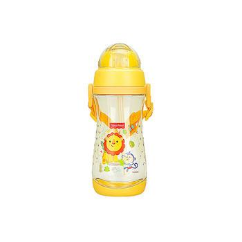 费雪儿童便携吸管水杯黄色