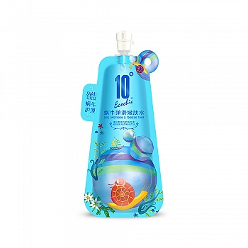 中国•10度蜗牛弹滑嫩肤水100g