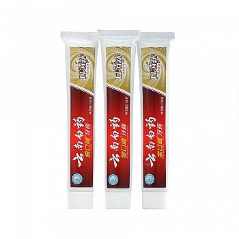 中国•云南白药 金口健 牙膏 130g×3