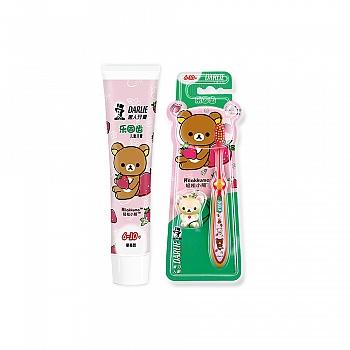 中国•黑人儿童牙膏乐固齿60g(6-10)*1+牙刷乐固齿(6-10)*1