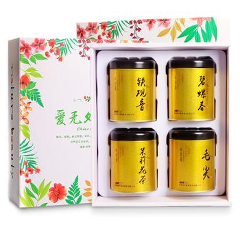 【4罐装】四月茶侬 精美绿茶礼盒