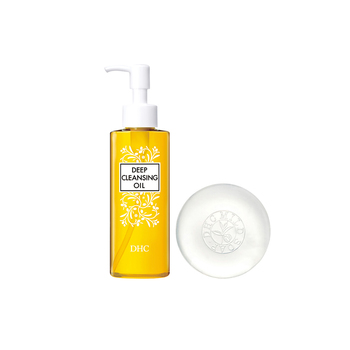 日本•DHC卸妆洁净优惠组(蝶翠诗橄榄卸妆油120mL+蝶翠诗橄榄蜂蜜滋养皂90g)