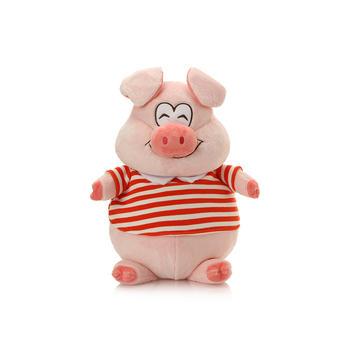 柏文熊微笑猪毛绒玩具53cm