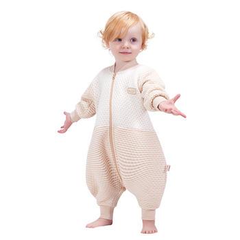 欧孕婴儿宝宝空气棉分腿睡袋