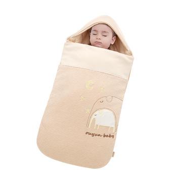 欧孕新生儿抱被宝宝睡袋春秋款