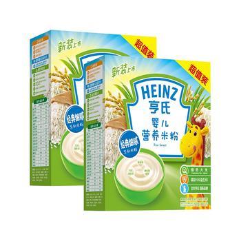 亨氏经济装婴儿米粉400g*2盒