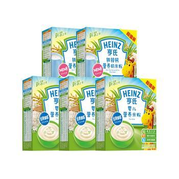 亨氏婴儿营养米粉400g*5盒