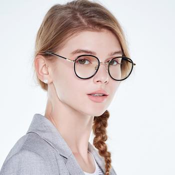 威古氏防蓝光 圆框 电脑护目镜女