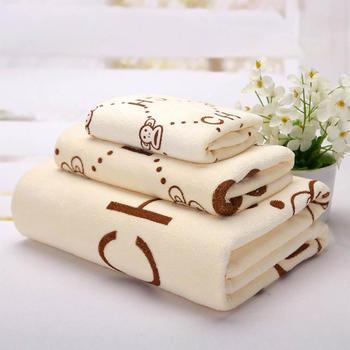 欧朵思浴巾+毛巾+童巾家庭-三件套