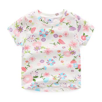 贝壳元素夏女T恤tx8380