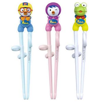啵乐乐 韩国儿童塑料学习筷子
