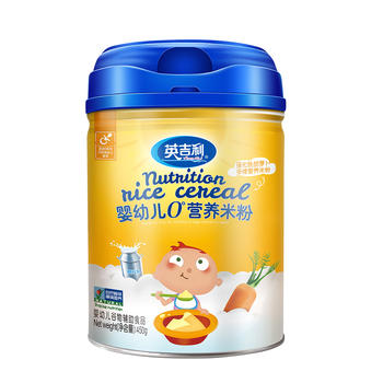 英吉利强化铁胡萝卜多维米粉450g